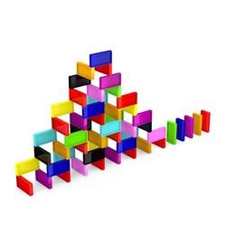 بازی فکری دومینو مدل SPONGEBOB تعداد 200 قطعه ای