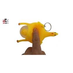 مرغ تخم گذار ضد استرس مدل Chicken Squishy