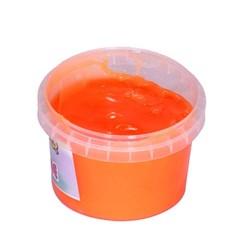 ژل بازی اسلایم مدل 4-R300 رنگ نارنجی