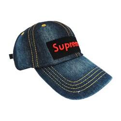 کلاه کپ جین مدل Supreme کد 022