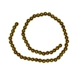 سنگ حدید طلایی سایز 4 تعداد 100 عددی
