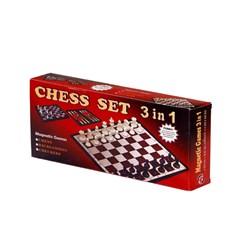شطرنج مغناطیسی سه کاره مدل 301